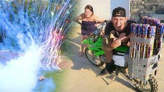 MY WORST IDEA EVER!! (Dirtbike Destruction)