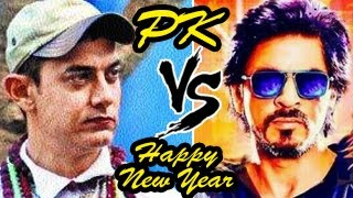 Aamir Khans PK Official TRAILER V/S Shahrukh Khans Happy New Year TRAILER CLASH