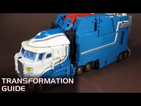 Classics Ultra Magnus with City Commander Armour – transformation guide – Wallas Toy Reviews