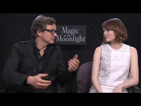 Magic In The Moonlight Movie: Colin Firth and Emma Stone GLAMOUR Interview