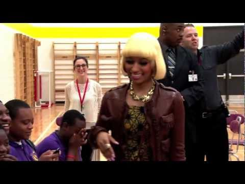 Nicki Minaj Takes Over High School for the Day
