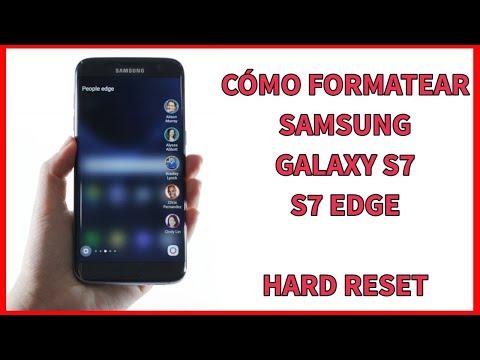2 formas de resetear/restaurar a modo fábrica Samsung Galaxy S7 y S7 Edge
