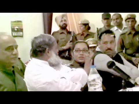Haryana minister storms out of meeting after war of words with woman cop