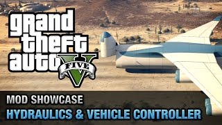 GTA 5 PC - Hydraulics & Vehicle Controller [Mod Showcase]