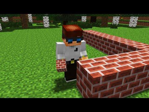 First Building MrUnfiny (Minecraft Animation)