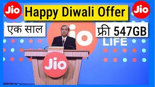Reliance Jio Ka Free 1 Saal- Daily 1.5GB & Unlimited calls for Next 365 days