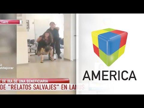 Un Relato Salvaje en la oficina de ANSES de Lanús