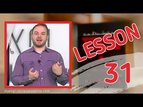 Lesson 31: Simple Past Tense with Be