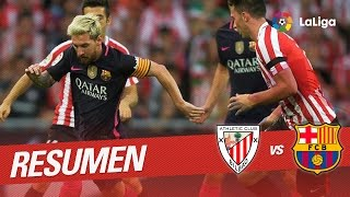 Resumen de Athletic Club vs FC Barcelona (0-1)