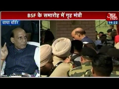 India 360: Rajnath Singh Visits Wagah Border For BSF Event