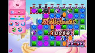 Candy Crush Saga - Level 3442 - No boosters ☆☆☆