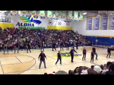Aloha high school assembly
