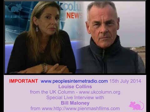 15th July 2014   Louise Collins and Bill Maloney