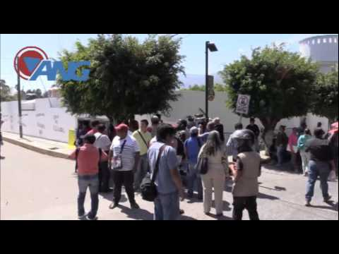 Maestros protestan contra la Policía Federal en Chilpancingo