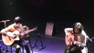 (2012 France Tour) Hazy Sunshine - Illona Bolou & Sungha Jung
