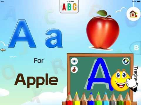 ABC Interactive Flash Cards - Youtube Reviews For Kids