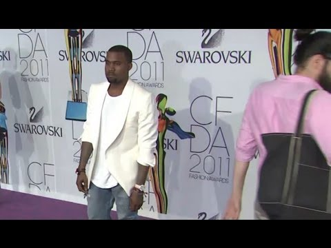 Kanye West Parties Without Kim Kardashian at Birthday Party!