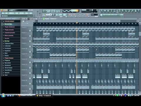 2012 New Fl Studio 10 Rap Beat instrumental video