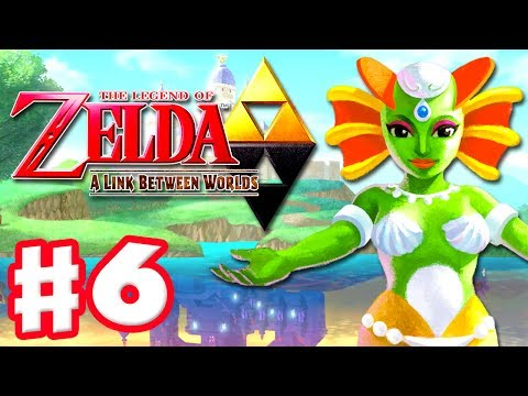 The Legend of Zelda: A Link Between Worlds - Gameplay Walkthrough Part 6 - Zora's Flippers (3DS)