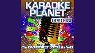 The One (Karaoke Version In the Art of the Backstreet Boys)