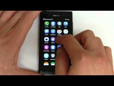 Nokia N9 - Käyttöliittymä