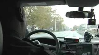 Cop pulls over school bus for speeding
