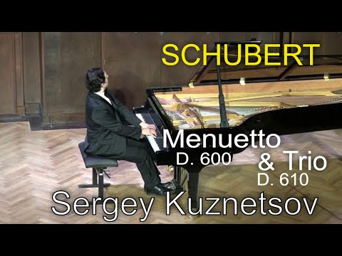 Шуберт Франц - Works for piano solo D.600 Minuet cis-moll