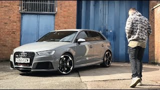 HERE'S WHY THE AUDI RS3 IS AN OUT-THE-BOX MONSTER!!