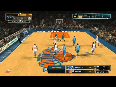 NBA 2K13 My Career - Madison Square Garden Showdown