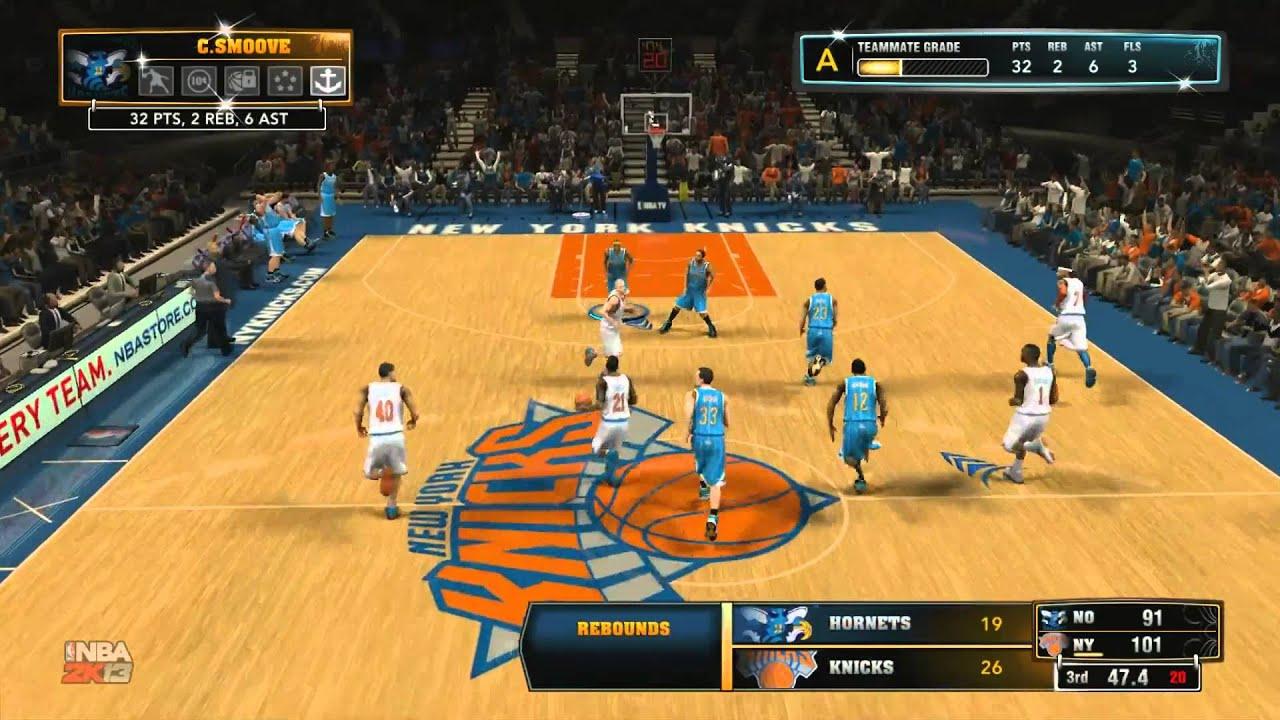 NBA 2K13 My Career Madison Square Garden Showdown YouTube