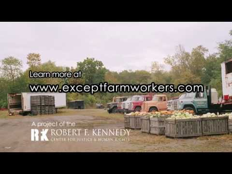 Martin Sheen for RFK Center's Except Farmworkers Campaign