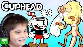 Cuphead Episode 3 Treetop Trouble HobbyKidsGaming