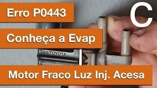 Dr CARRO Motor Fraco, Injeção Acesa - Evap, erro P0443