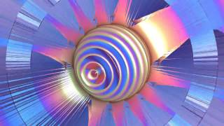 4K Colorful Layered Sphere 2160p FREE Motion Background AA VFX