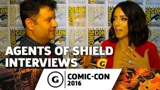 Agents of SHIELD Cast Interview - Comic-Con 2016