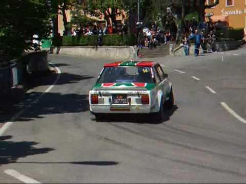 Rally Storico Campagnolo 2008 - Fiat 131 Abarth Alitalia