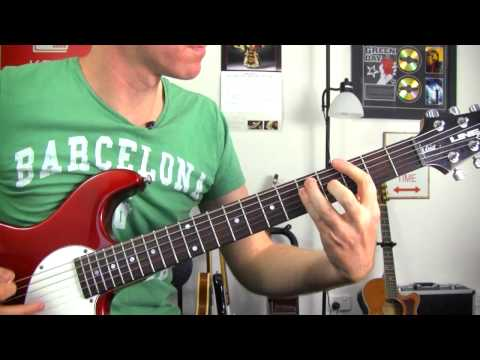 Enter Sandman - Metallica ★ How To Play - Easy Guitar Riff Lessons - Riff & Chords Tutorial