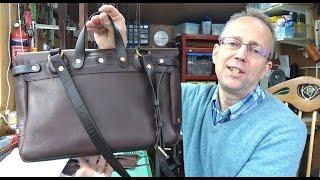 Handmade: Making the Bucklehurst Leather Mailbag