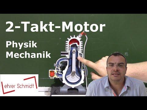 Zwei-Takt-Motor (2-Takt-Motor)   Mechanik   Physik   Lehrerschmidt