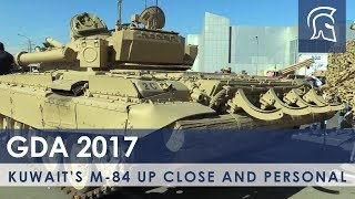 Kuwait's Unique M-84 (Yugoslav T-72) Main Battle Tank Up Close