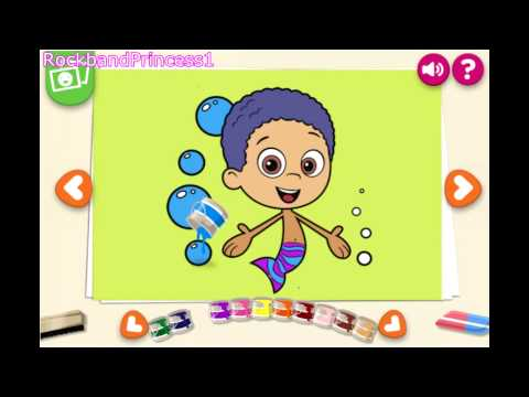 Paint Game Bubble Guppies - Painting Games video