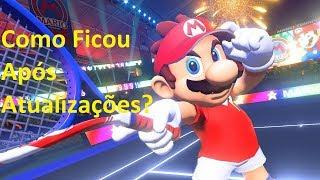 Bate-Papo Nintendo   Mario Tennis Aces Switch - Como está após atualização?