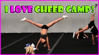 KAYLA GOES TO CHEER CAMP | We Are The Davises