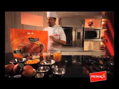 Pavo Horneable en Salsa de Mango y Jengibre - Receta