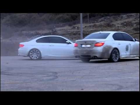 Stunts at its Best. Abuja - Nigeria (BMW M5 DRIFT)