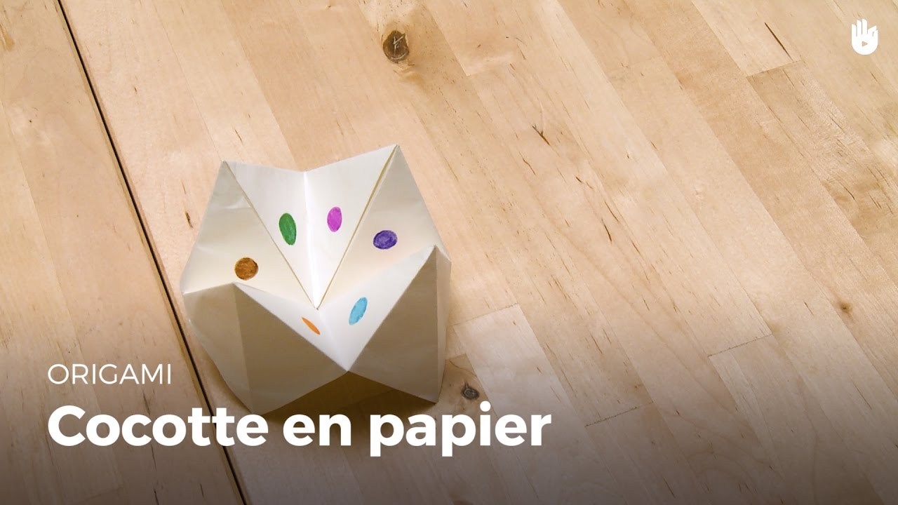 origami cocotte en papier jeux enfants hd youtube. Black Bedroom Furniture Sets. Home Design Ideas