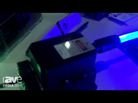 CEDIA 2014: BL Innovative Lighting Explains their Optical Fiber Lasers