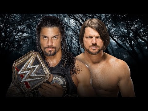 WWE Payback 2016 - Roman Reigns vs AJ Styles