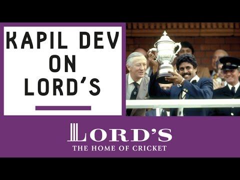 Kapil Dev's 1983 Lord's World Cup Memories | Honours Board Legends