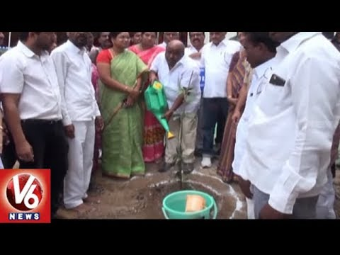 Minister Jogu Ramanna Inaugurates Reception Centres In Adilabad Police Station | V6 News